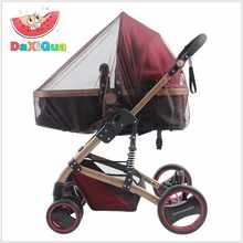 Baby Stroller Pushchair Mosquito Insect Shield Net Safe Infants Protection Mesh Stroller Accessories cart Mosquito Net(China)