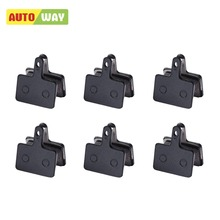 AUTOWAY 6 pairs Bicycle brake pads for shimano M375 M395 M486 M485 M475 M416 M446 M515 M445 m525 for tektro Orion / Auriga