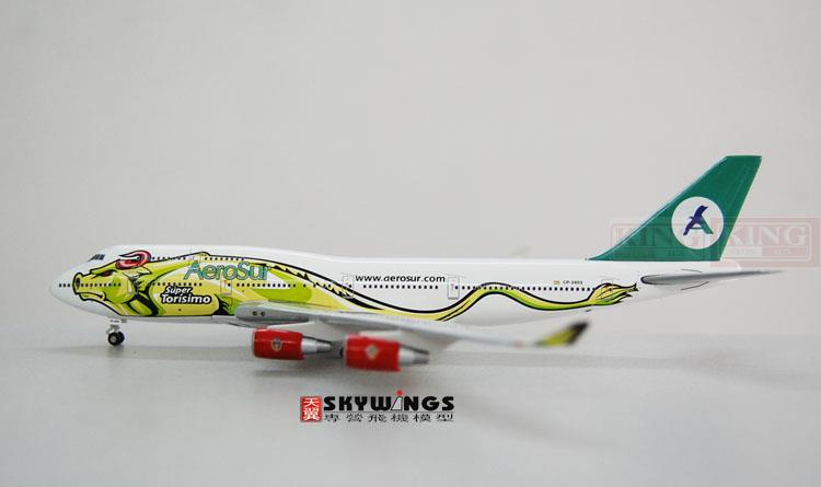 Wings JC4084 JC Suhl Bolivia aviation 1:400 B747-400 commercial jetliners plane model hobby spike wings xx4502 jc turkey airlines b777 300er san francisco 1 400 commercial jetliners plane model hobby