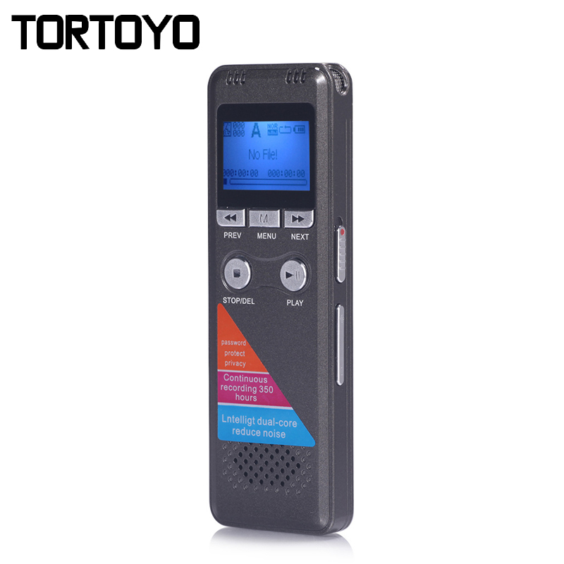 New Professoional 8GB Portable Digital Voice Recorder MP3 Player Audio Playback Conference Interview Sound Control Recording Pen