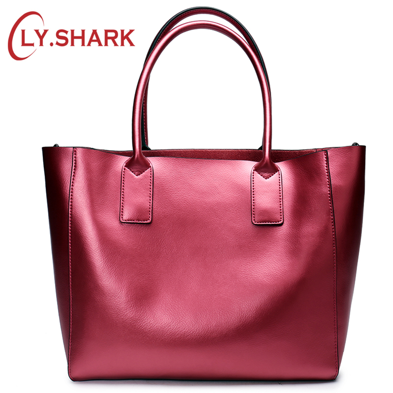 LY.SHARK Female Bag Ladies Genuine Leather Women Bag Shoulder Messenger Bag Women Handbag Big Famous Brand Designer Fashion Tote santoni низкие кеды и кроссовки