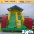 Inflatable Biggors Cute Inflatable Slide Commercial PVC Bouncy Castle Kids Outdoor Playing Toys