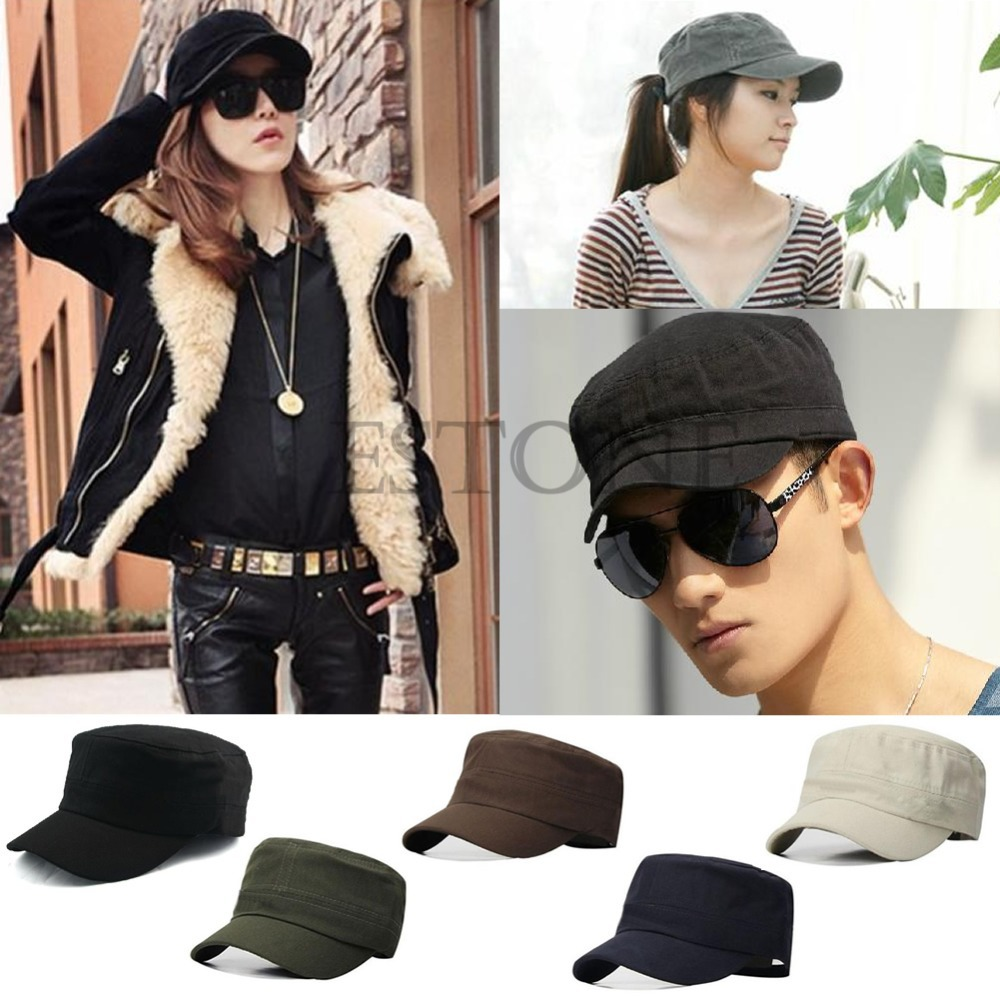 Aliexpress.com   Buy New Adjustable Classic Plain Vintage Army Cadet Style  Cotton Cap Hat from Reliable cap hat suppliers on Julia s 2014 store 09f1c1a6778