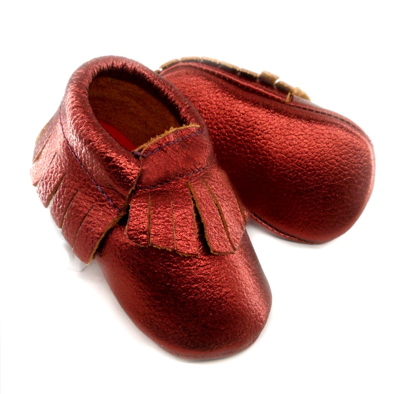 Leather Baby Moccasins First Walkers