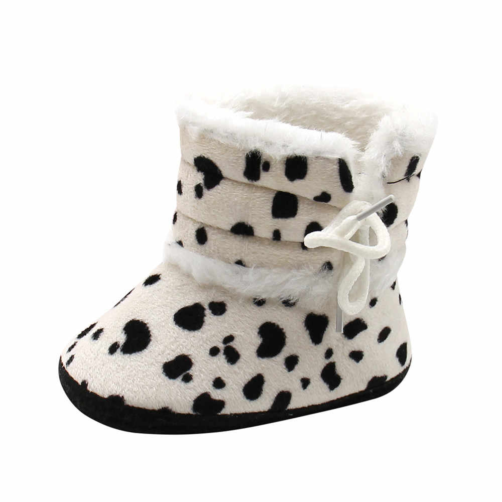 f3e233aa93edc  5 DROPSHIP 2018 NEW HOT Fashion Cute Baby Girls Boys Soft Booties Snow  Boots Infant