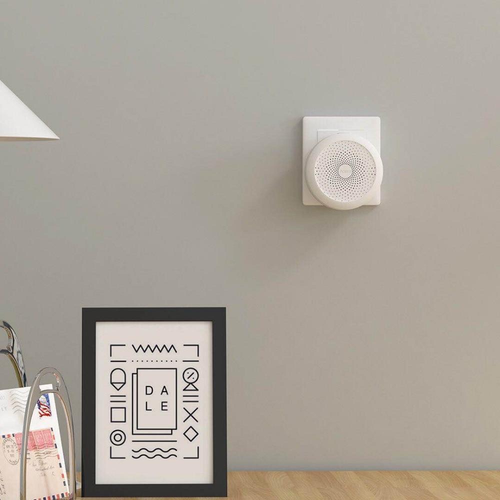 Image 2 - Original Xiaomi Mijia Aqara Hub , Mi Hub  with RGB Led night light Smart work with For Apple Homekit and aqara smart App-in Smart Remote Control from Consumer Electronics