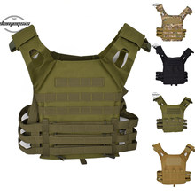 Hunting Tactical Accessoris Body Armor J P C Plate Carrier Vest Multicam Ammo Magazine Airsoft Tactical vest(China)