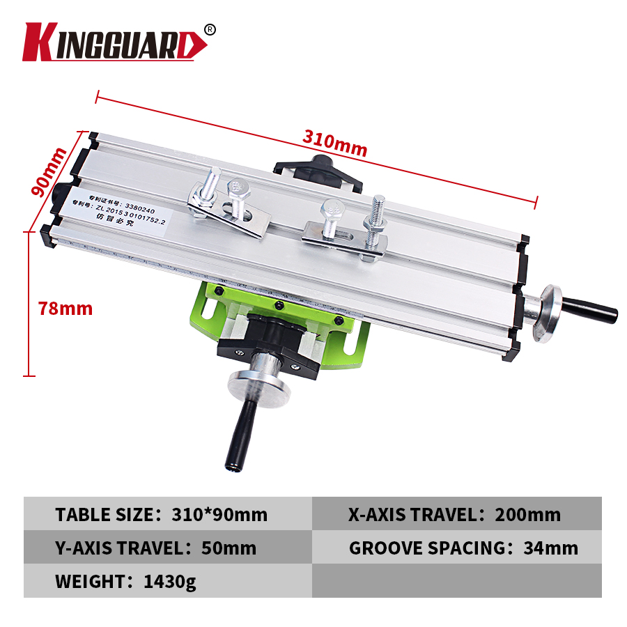 Multifunction Miniature Precision Milling Machine Bench Drill Vise Fixture Worktable X Y-axis Adjustment Coordinate Table no tax to russia miniature precision bench drill tapping tooth machine er11 cnc machinery