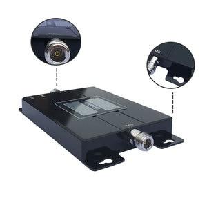 Image 3 - Lintratek banda dupla gsm cdma 850 mhz repetidor 3g 2100 mhz sinal impulsionador celular repetidor banda 5/banda 1 amplificador 850 2100 mhz