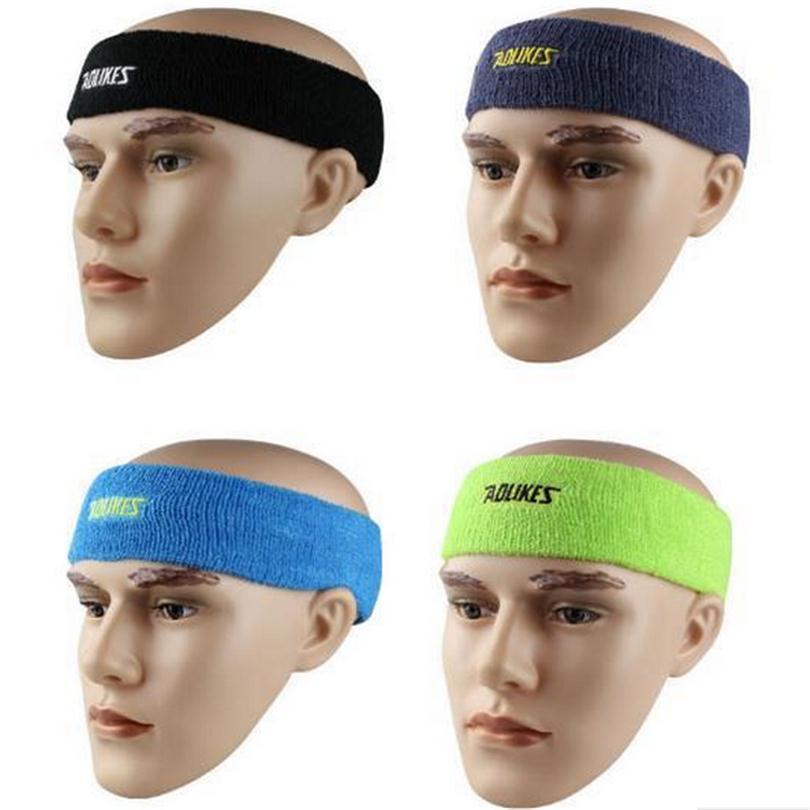 Outdoor Sports Cycling Headwear Safety Sweatband Running Football Men Women Stretch Hair Bands Gym Fitness Sweat Headband M038