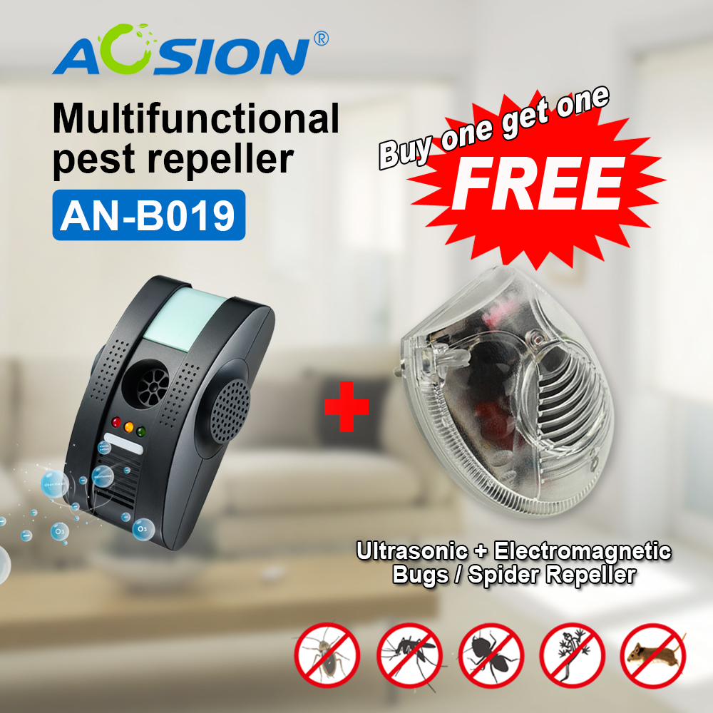 US $31 98 20% OFF|Buy Anion Ultrasonic Electromagnetic Pest Repeller Best  Insect Repellent for Indoor Pest Control ( Got GS spider repeller free)-in