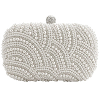 Wholesale 5pcs*Fashion Clutch Bag Beaded Party Bridal Handbag Wedding Evening Purse