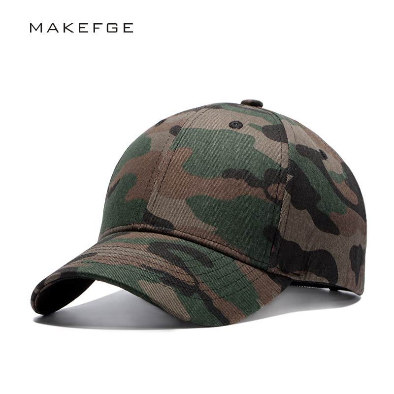 цена на dad Brand Quality Hip Hop Hats Spring Summer Men Women Baseball Cap Camouflage Snapback Bone High-Grade Cotton Sunscreen Caps