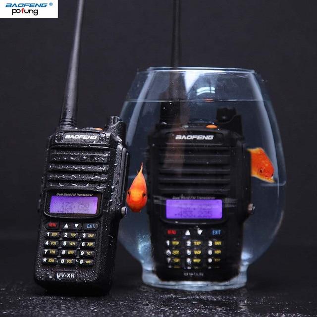 Baofeng UV XR 10 واط راديو ثنائي النطاق cb راديو IP67 مقاوم للماء قوية لاسلكي تخاطب 10 كجم طويلة المدى راديو اتجاهين للصيد