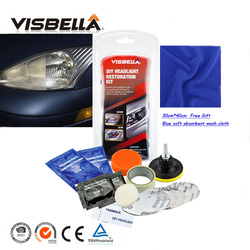 Visbella DIY professional headlight restoration TOOL headlamp restore kit for car head light motor cleaner renew lens polish kit
