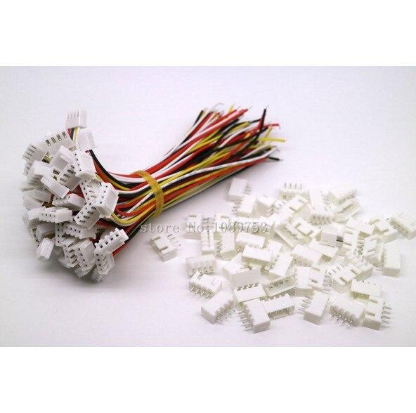 500 ensembles JST XH 2.5 connecteur de batterie 4 broches prise femelle et mâle avec fil 150 MM