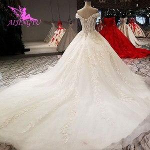 Image 5 - AIJINGYU свадебное платье, реальные образцы, цвета слоновой кости, Гуанчжоу, свадебные платья принцесс