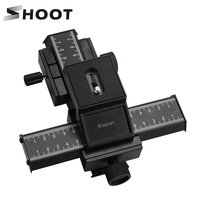 4 Way Macro Focusing Focus Rail Slider Close Up Shooting For Canon Nikon Sony Etc SLR