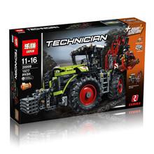 Pre-sale le pin  1977PCs technics Erie St and tractor model building blocks bricks compatible toy 20009