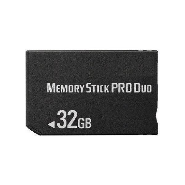 32GB MS Memory Stick Pro Duo Card Storage for Sony PSP 100020003000 Game Console