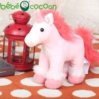 Bebecocoon Wholesale Kawaii Unicorn Plush Lovely Unicornio Pelucia Stuffed Animal Kids Soft Toy for Kid Boys Girls For Drop Ship
