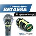 Бесплатная доставка! Капсула картридж для beta58a, Beta57a проводной микрофон, Капсула суперкардиоида динамический прямой замены