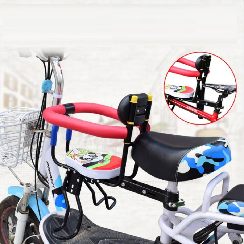 Bicycle Child Quick Release Seat MTB Mountain Bike Bicycle Electric Child Seat Baby Safety Front Seat Sella Carbonio Bike Saddle