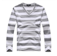 EAS New Arrival 2016 Men S Long Sleeved Cotton Stripes Sweater Fashion And Hot Pullover Men