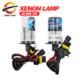 H4 HID xenon H4 xenon HID kit H4 Hi lo faros lámpara de las bombillas 4300 K 6000 K 5000 K 8000 K 10000 K 12000 K 35 W envío gratis