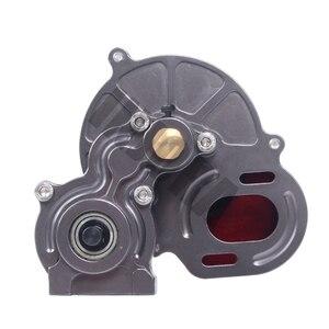 Image 3 - Полный металлический Коробка передач INJORA SCX10 коробка передач с шестерней для 1/10 RC Crawler Axial SCX10 обновленные детали для радиоуправляемых автомобилей