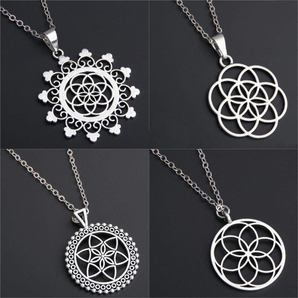 Flor de la vida - Collar Geometría Sagrada