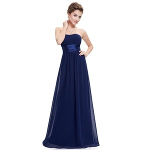 Image 4 - Grey Bridesmaid Dresses Long EB25599 Elegant Chiffon Burgundy A line Off Shoulder Plus Size Cheap Prom Gowns for Wedding Party