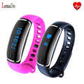 Smart Bracelet V8 Blood Pressure Heart Rate Monitor Wristband Band Clock IP67 Waterproof For iOS Android smartphones