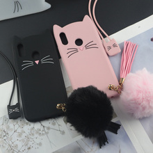 Cute 3D Cartoon Silicon Case for Huawei Honor 10i Cases Japa