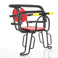Bicycle electric bike rear increase thickened child seat mountain bike bicycle baby child safety high barrier