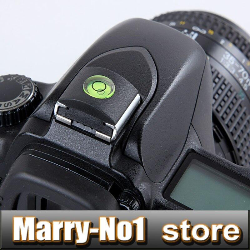 Galleria fotografica 5 pz Spirit Level Hot Shoe Protezione Della Copertura per <font><b>Canon</b></font> 5d2 5d3 5d4 6d 6d2 7d 650d 700d 600d per nikon D850 D800 D610 D600 D5200