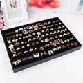 Ring box High-grade tray earring display plate jewelry wearing accessories receive tray ring packing box ring storage cases