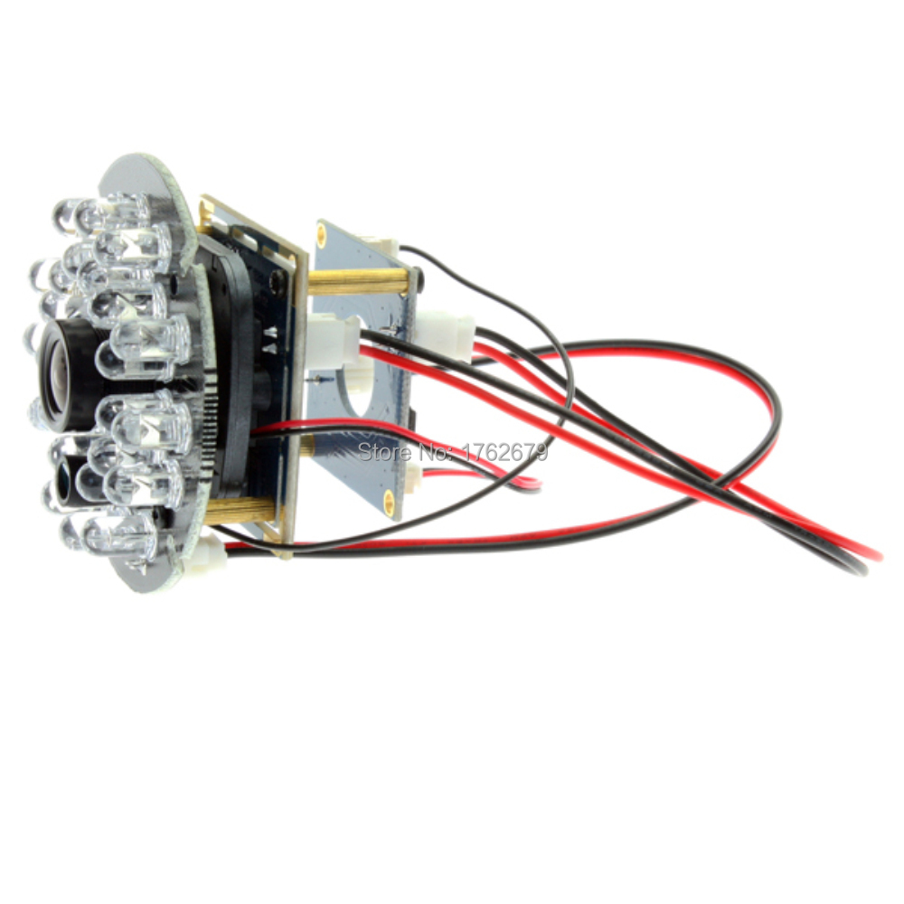 12mm lens 5MP 2592 x 1944 night vision webcam UVC board CMOS OV5640 24pcs IR LED infrared usb camera board