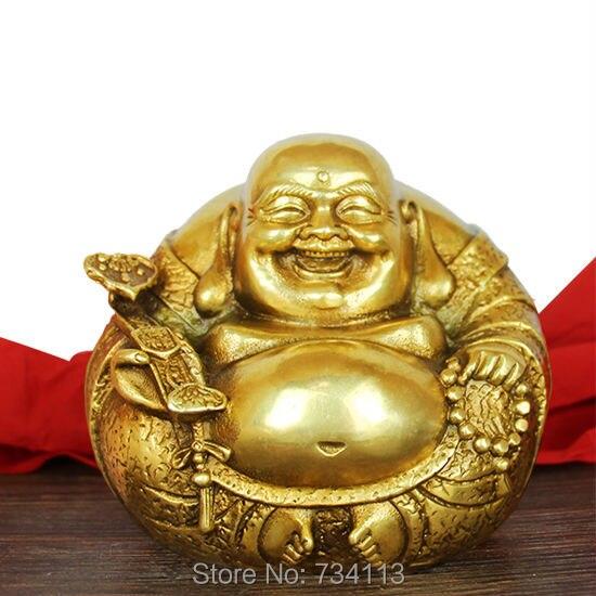 Maitreya otevřené lehké mědi ruyi maitreya socha sochy sochy bytové textilie feng shui ozdoby dárky hodně štěstí dekorace
