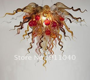LR199-Free Shipping Best Seller 60*60cm Glass Chandelier Lamp