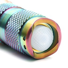 Astrolux S41S Colored Stainless Steel 1600LM 4/7modes Mini 4x Nichia 219B/XP-G2/G3 A6 LED Flashlight 18350 16340 torch+cap