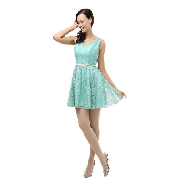 Aliexpress.com : Buy Sexy Backless Mini Green Lace Wedding Guest ...