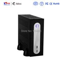 Realan G3 SGCC 0.5mm Mini ITX Server Tower Con Alimentatore, 2.5 HDD 3.5 HDD, 6 COM, PC Case Tower