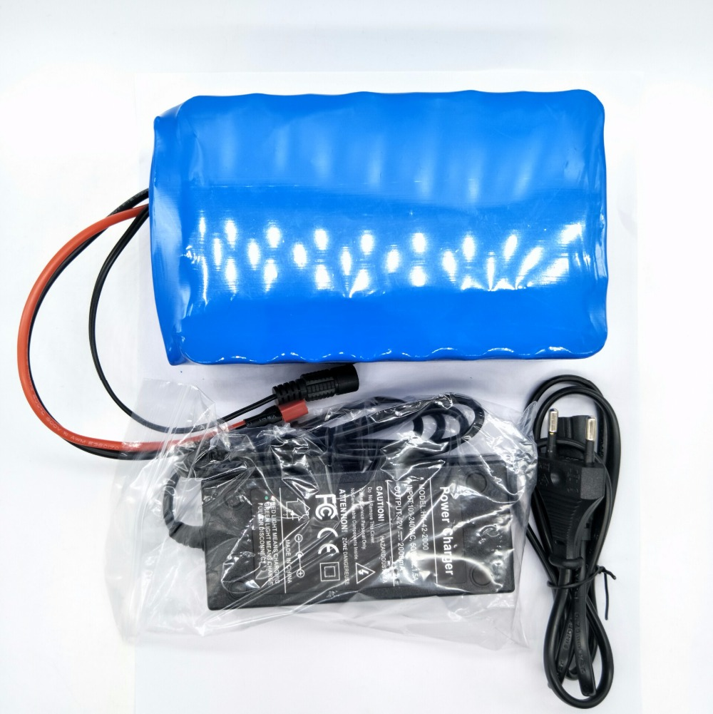 2018 10S4P 36V14A battery pack made with original 18650 for sanyo 35GA battery 3500MAH + 36V2A charger
