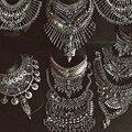 Joyería de Moda Las Mujeres Collier Dvacaman Grande Maxi Boho Maxi de La Vendimia Chunky Collares y colgantes Collar de la Declaración 9820