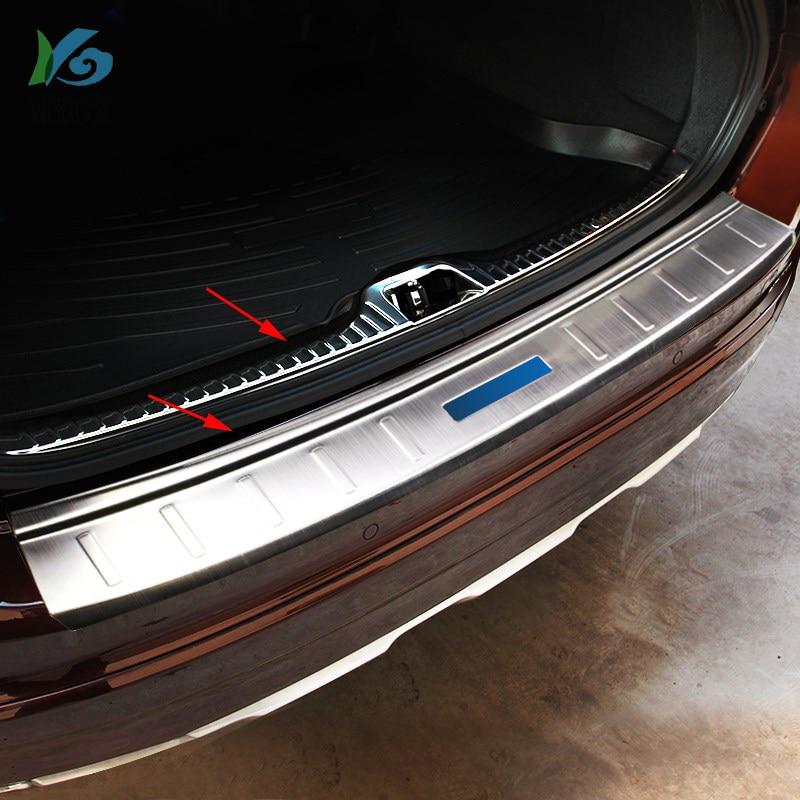 Inner Armrest Box Car Seat Seam Stripe Cover trim 2pcs for VOLVO XC60 2009-2015