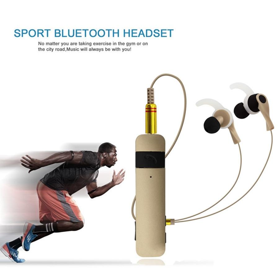 New Bluetooth Headset Wireless Earphone Earpiece Sport Running Stereo With Microphone fone de ouvido For xiaomi samsug iphone 2017 new 2 in 1 mini bluetooth headset phone usb car charger fone de ouvido micro earpiece wireless earphone for xiaomi mi6 mi 6
