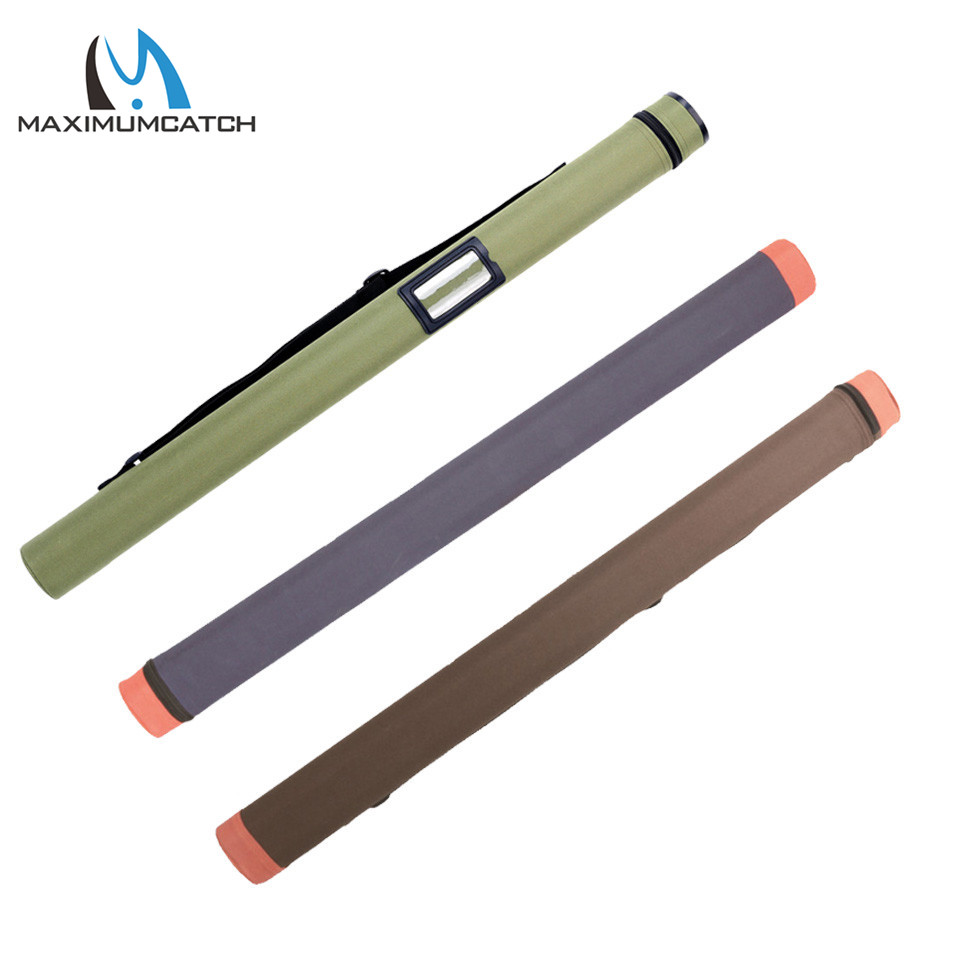 Maximumcatch Fly Fishing Rod Case Multi Color Durable Cordura Rod Tube for 9FT/10FT Rods