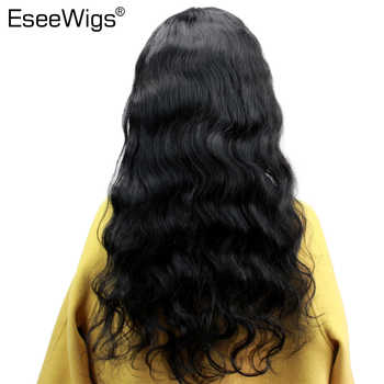 Eseewigs 150 Density Body Wave Full Lace Human Hair Wigs Pre Plucked Brazilian Remy Hair For Women With Baby Hair Bleached Knots
