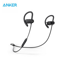 Anker Bluetooth Headphones Soundcore Spirit X Sports Earphones with Wireless Bluetooth 5.0 IPX7 SweatGuard Tech 12-h Battery Mic(China)
